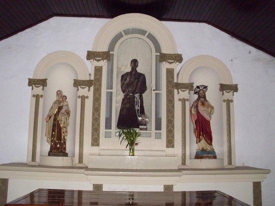 Capilla San Benito: altar