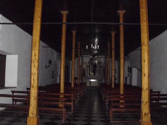 Capilla San Benito: interior