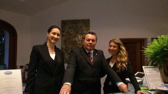 Hotel Le Calette: Calette staff
