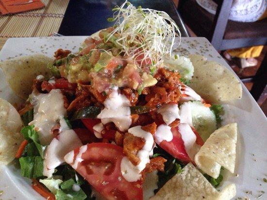 Mantras Veggie Cafe and Tea House: Mantras Salad