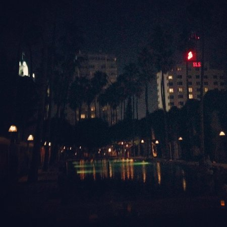 Delano South Beach Hotel : Night at Delano