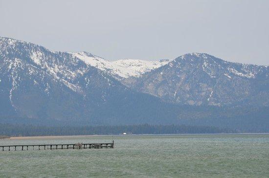 Harrah's Lake Tahoe: Siera Nevada Mountains overlooking Lake Tahoe