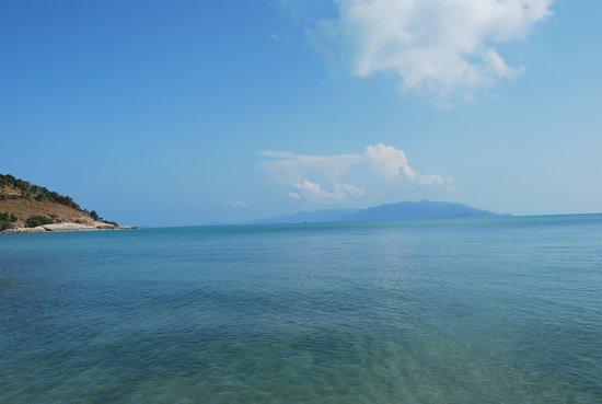 Melati Beach Resort & Spa : Panorama dalla spiaggia...