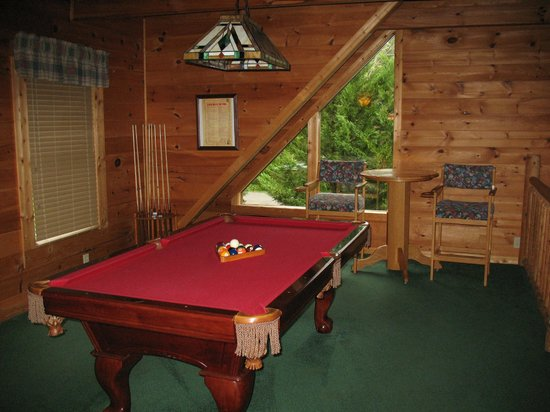 RiverStone Resort & Spa : Upstairs pool table