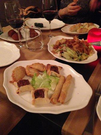 ristorante lyr antipasti misti del menu degustazione