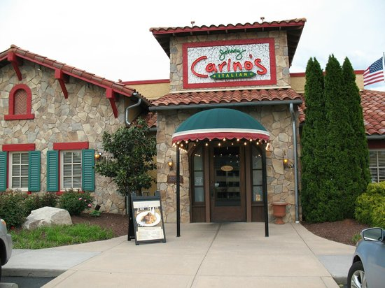 Johnny Carino's: Exterior of the Restaurant