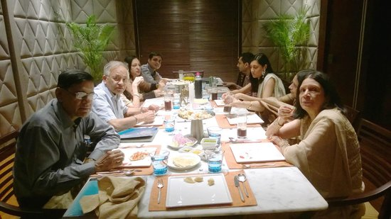 Masala Bay: 47th Wedding Anniversary lunch with family