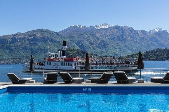 Grand Hotel Britannia Excelsior: INFINITY POOL