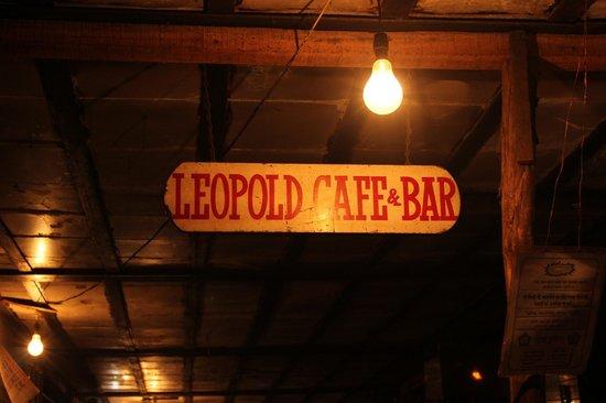 Leopold Cafe and Bar : Bonjour!