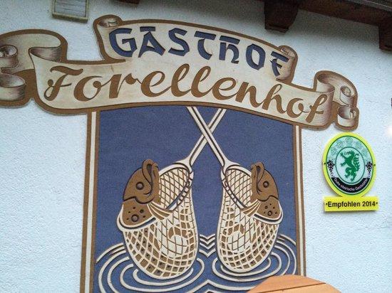 Gasthof Forellenhof , Steirischer Bodensee : Gasthof Forellenhof
