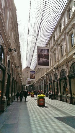 Scandic Hotel Grand Place: Galeries St. Hubert
