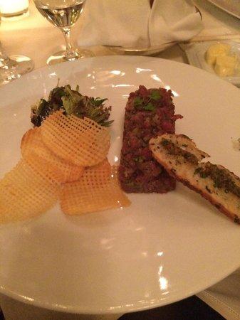 Le Cinq: Beef tartare