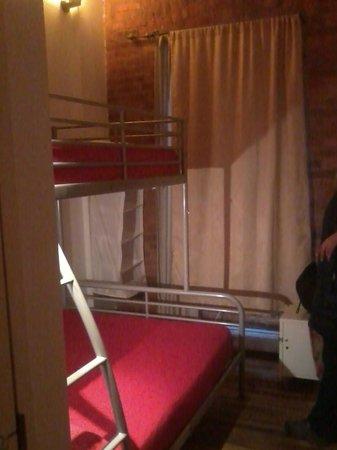 The New York Loft Hostel: Quarto duplo privado