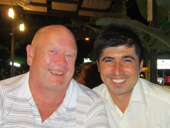 Friar Tucks Bistro: Happy waiter Cengiz