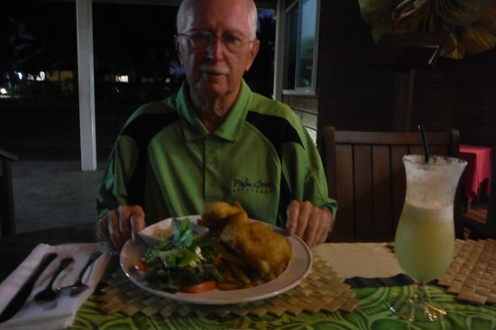 Palm Grove: great food fish & chips