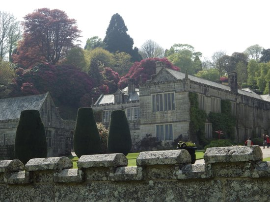 Lanhydrock House and Garden: Beautiful colours