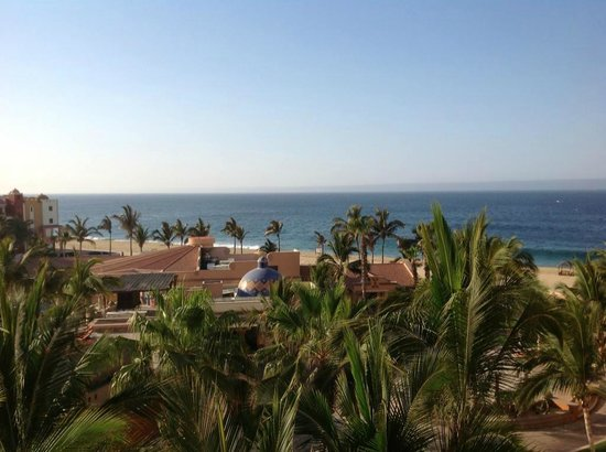 Playa Grande Resort : The view from our room in building M.
