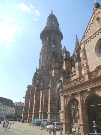 Freiburg Cathedral : cattedrale