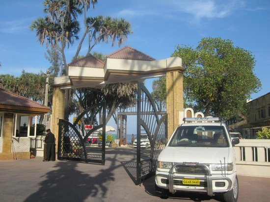 Radhika Beach Resort: entrance