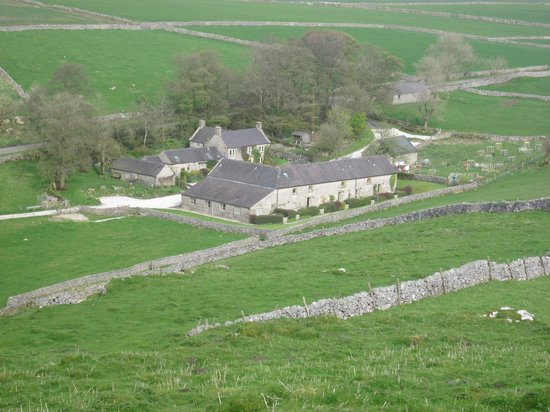 Wheeldon Trees Farm Holiday Cottages: The Farm from High wheeldon