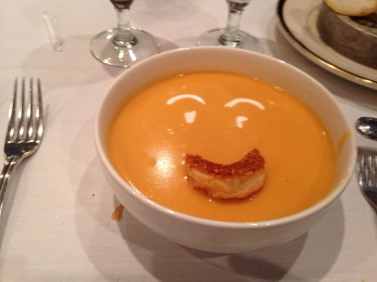 Porter's Steakhouse: Happy lobster bisque