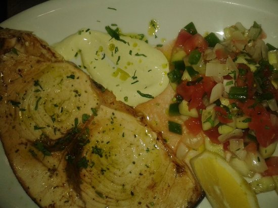 Restaurante pata rusa,coktail & bar: lovely swirdfish