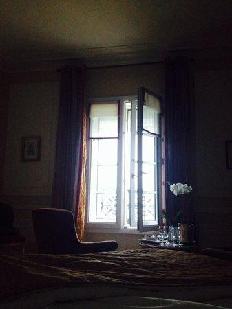 Hôtel du Palais : Au petit matin