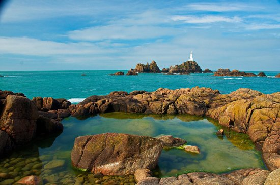Grand Jersey Hotel & Spa : The most photographed lighthouse in the world.