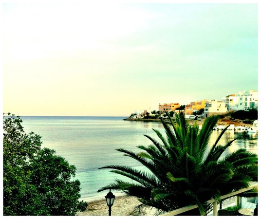 Hostal Talamanca: Seaview from the room