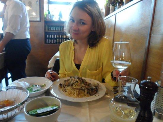 Taverna San Trovaso : My friend