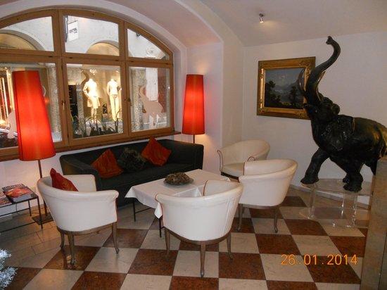 Hotel Elefant: Lobby