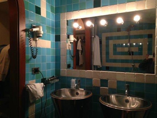 Hotel Belvedere : Bagno della camera