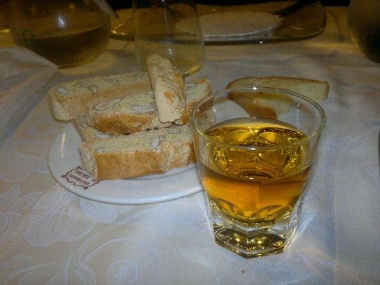 Ristorante dal Toscano: Finale classico