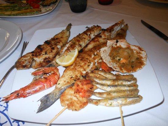 Da Lele: grigliata di pesce
