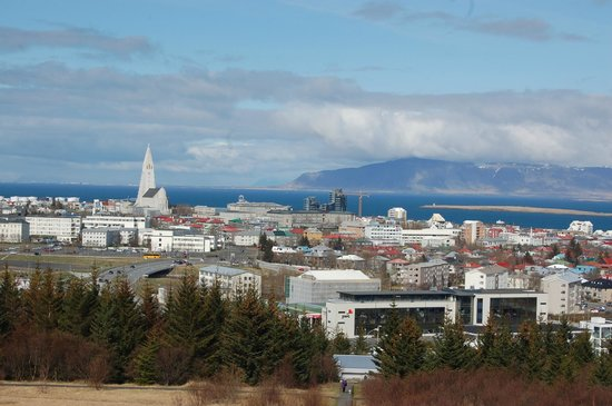 The Pearl (Perlan): Reykjavik from the Pearl