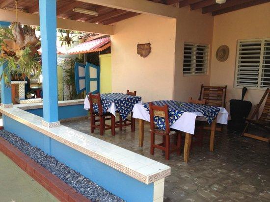 Casa Villa Caricia: Outdoor dining area