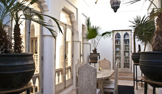 Riad Safa : Dining room