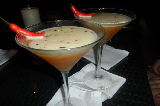 The Setai: CHILI PASSION MARTINI
