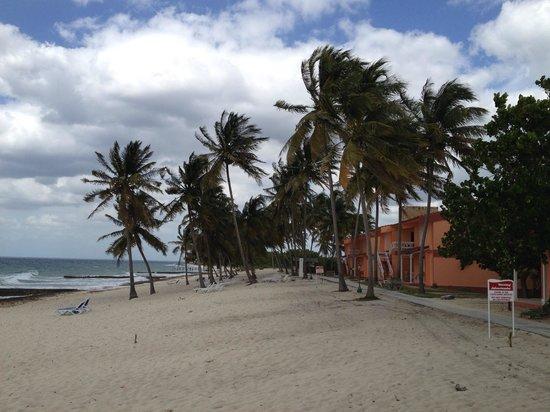 Hotel Maria La Gorda: Hotel view from the beach