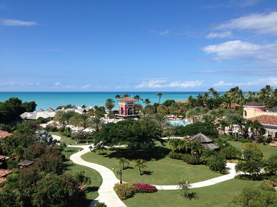 Sandals Grande Antigua Resort & Spa : View from Romero & Juliet penthouse