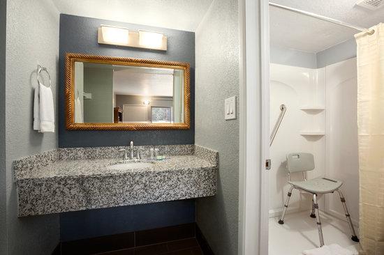 Travelodge Flagstaff East : Hadicap Bathroom