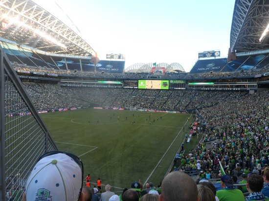 Seattle Sounders MLS game