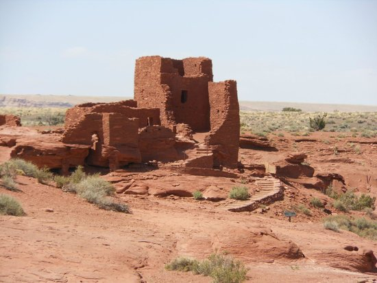 Sonesta ES Suites Flagstaff: Wupatki National Monument along Hwy 89 route to Grand Canyon from hotel