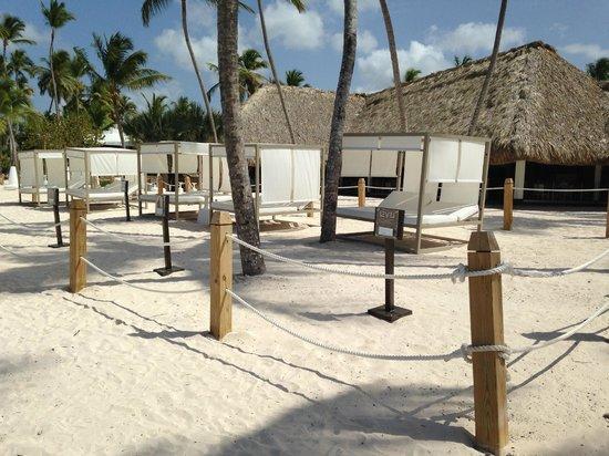 Melia Caribe Tropical : Level private palapas