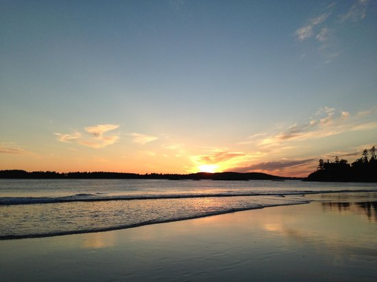 Ocean Village Beach Resort : Sunset