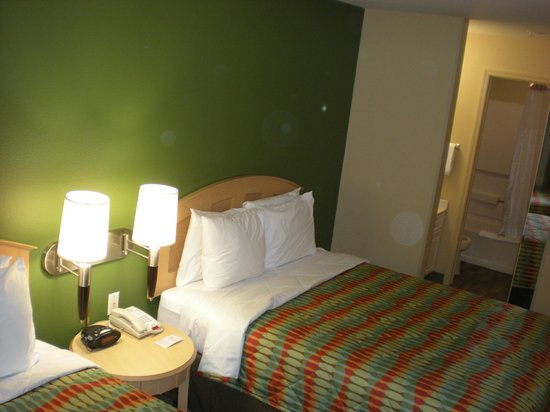 Extended Stay America - Orlando - Convention Center - Universal Blvd: Habitación c/2 camas dobles