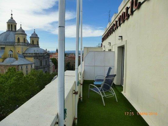 HRC Hotel: Dachterasse  Zimmer 513 Bild 2