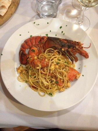 Ristorante Pizzeria Osteria Del Porto : Spaghetti al grillo