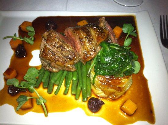 Oxo's Restaurant: Rump of lamb