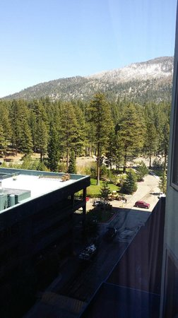 Harrah's Lake Tahoe: view from 9th floor